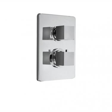 QUADRATO trim set for shower valve pa042