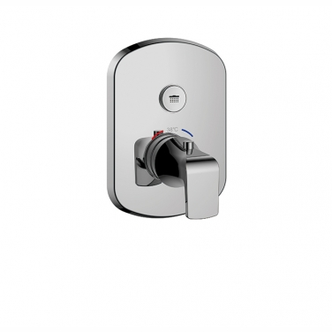 PushGo thermostatic valve and trim set - 1 control