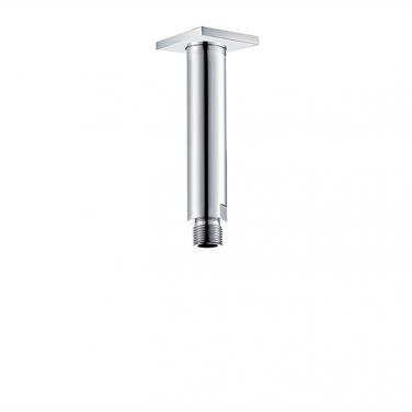 "6"" ceiling arm with square flange"