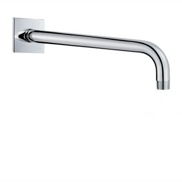 "18"" shower arm with square flange"